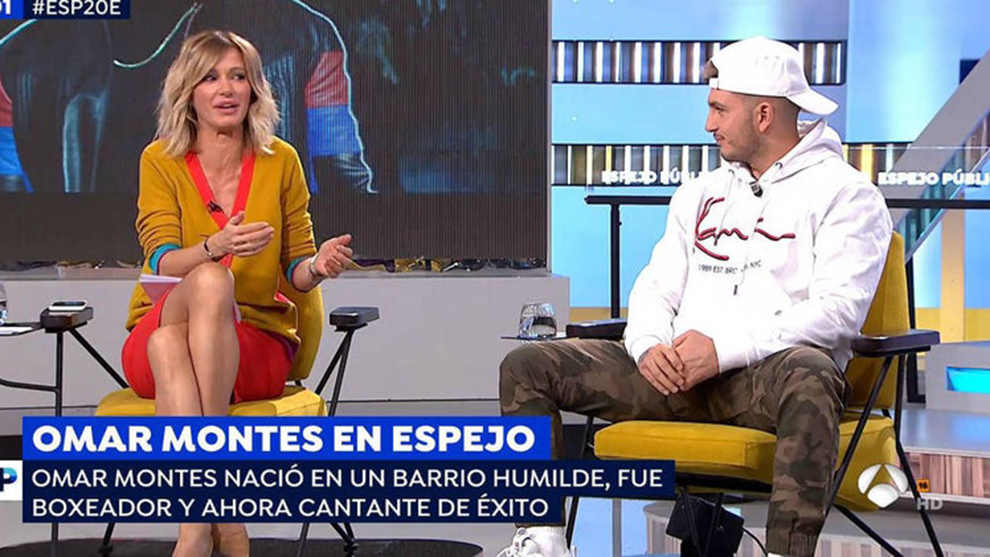 Omar Montes piropeó a Susanna Griso y la dejó sin palabras