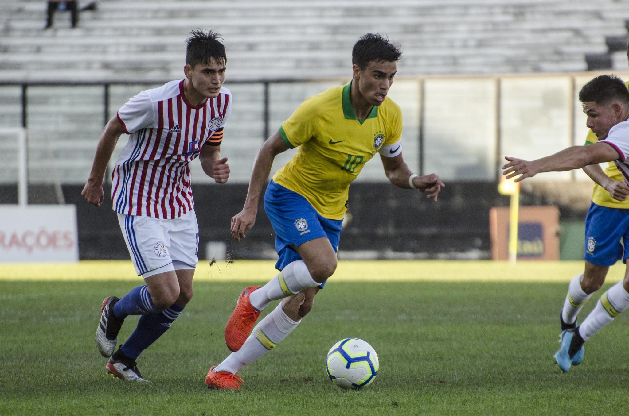 <HIT>Reinier</HIT> - Brasil x Paraguai - Amistoso da Seleção Brasileira Sub-17 - São Januário