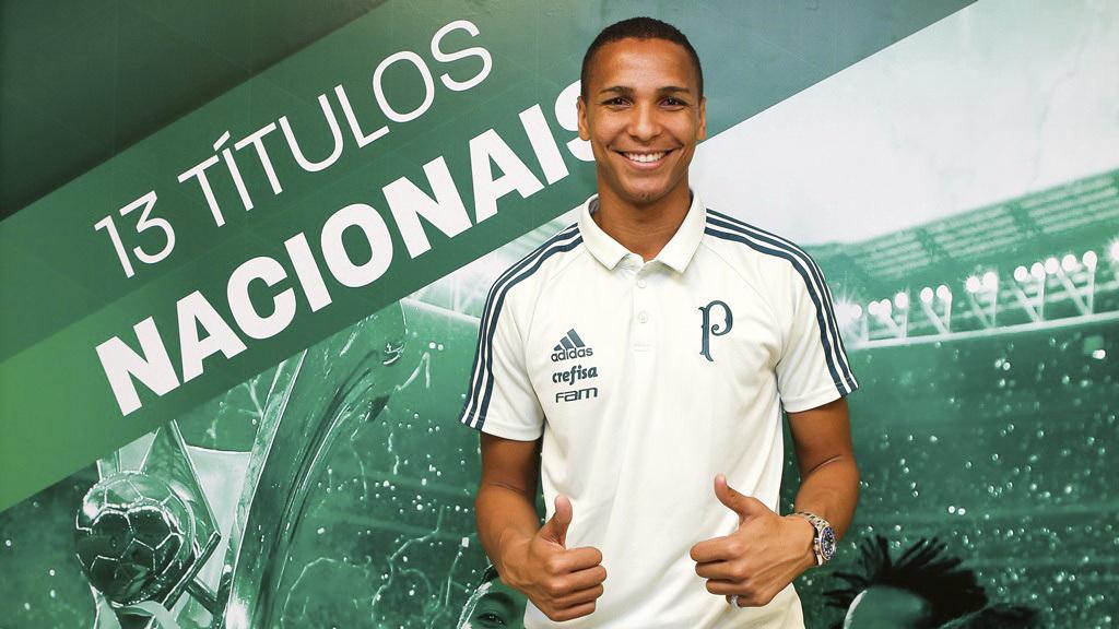 Exjugador del Levante <HIT>Deyverson</HIT> se presenta con el Palmeiras. Oficial. Foto: web SE Palmeiras