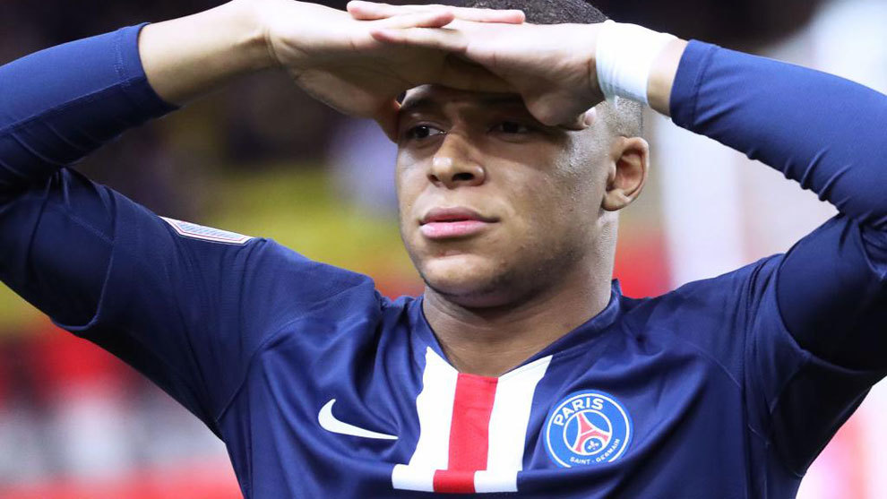 """Mbappé: """"Tengo que concentrarme en el PSG, después de eso, al final de la temporada, ya veremos"""""""