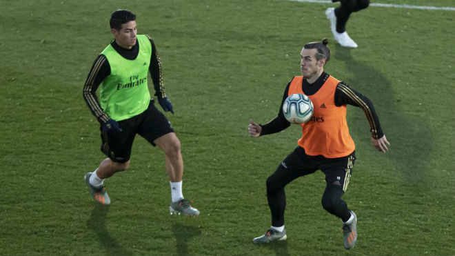 Unionistas Vs Real Madrid Bale And James Included In Squad For
