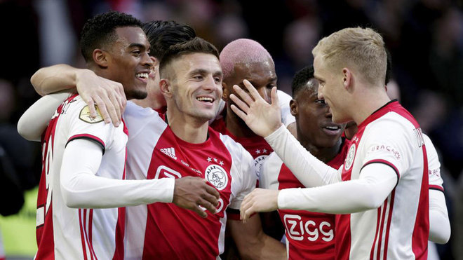 Eredivisie: Ajax lead the Eredivisie and have already found heirs to De  Jong and De Ligt | MARCA in English