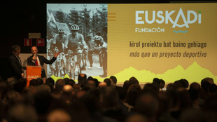 Una imagen de la presentación de Fundación Euskadi.