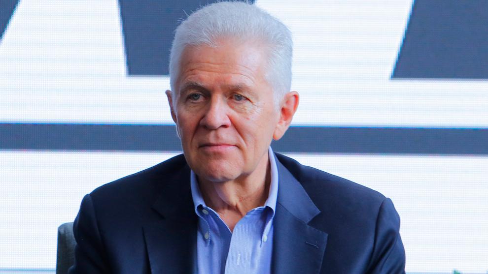 Carlos Padilla, presidente del COM
