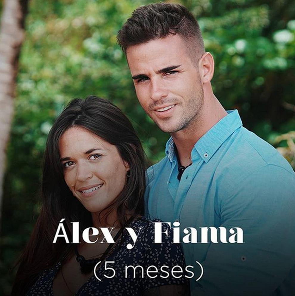 Álex y Fiama en la Isla de las Tentaciones