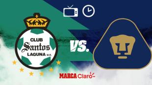 Santos vs Pumas: Horario y dónde ver.