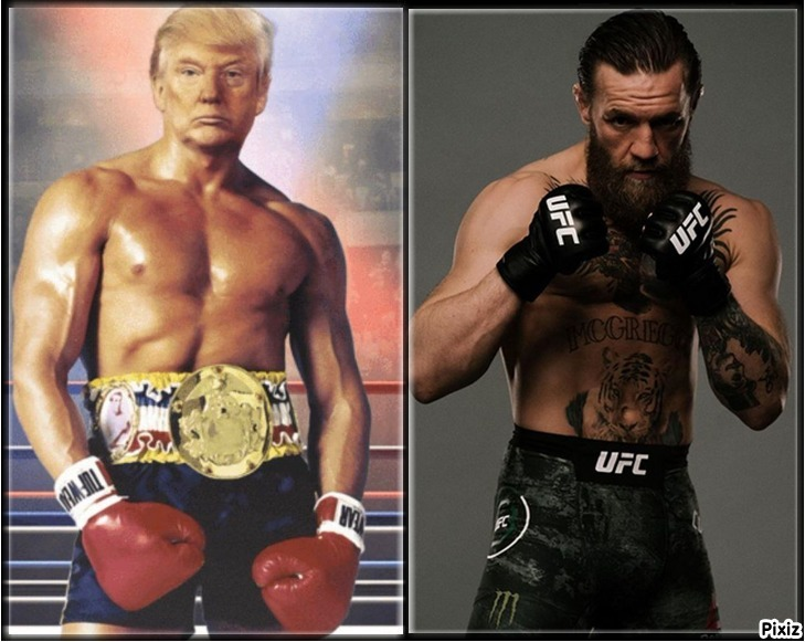 Donald Trump y Conor McGregor