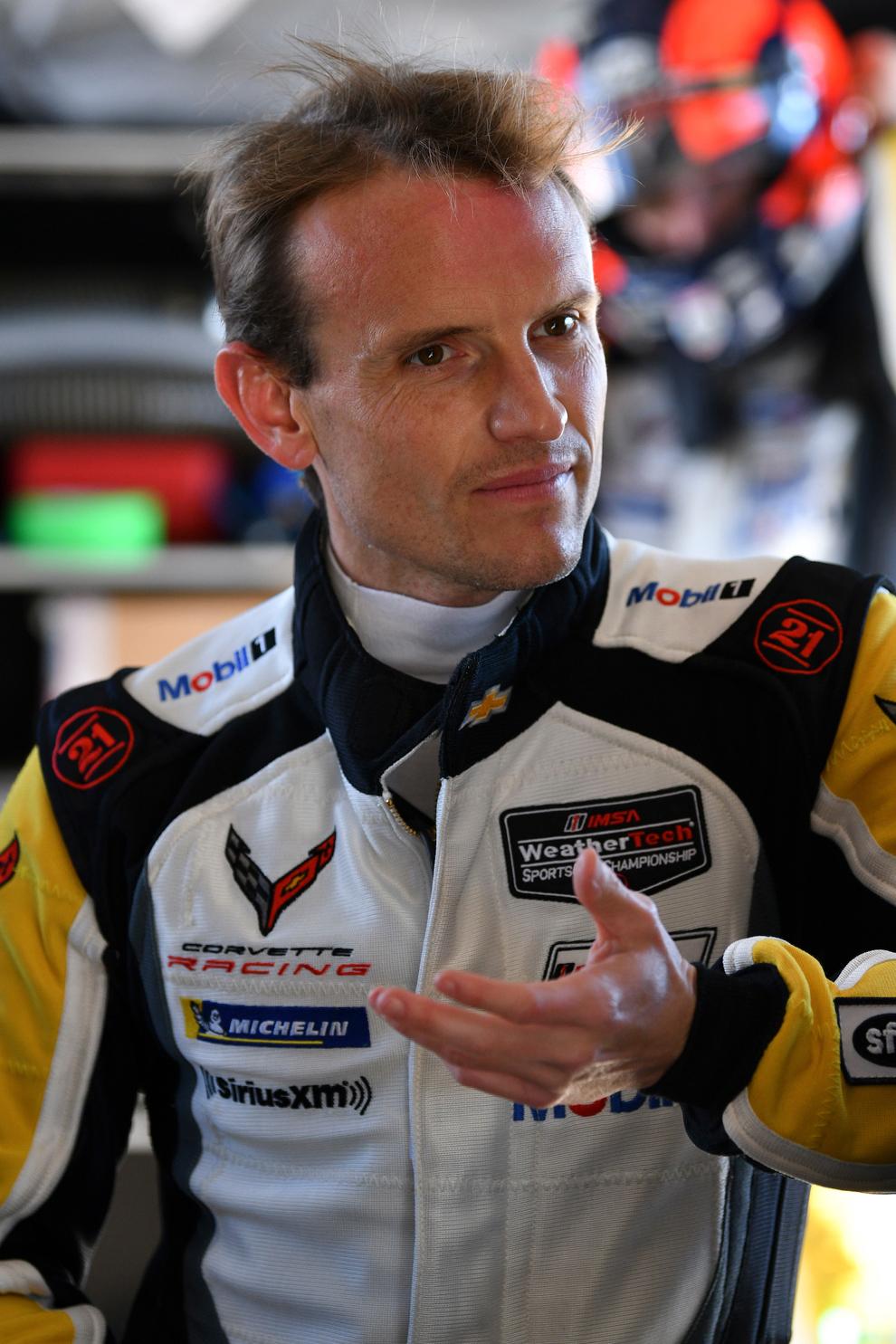 Antonio García buscará su segundo triunfo en Daytona con Corvette.