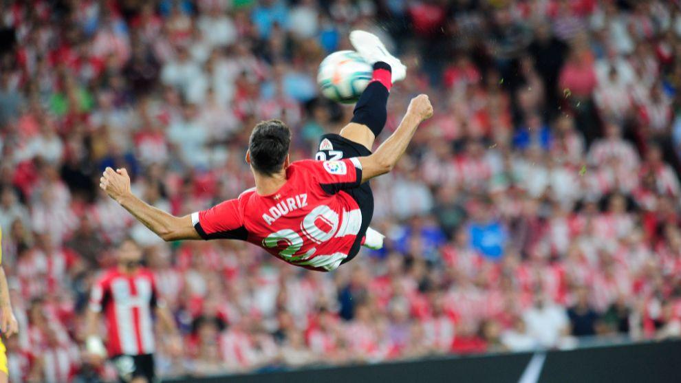 El gol más reciente de Aduriz es el que hizo al Barcelona el pasado...