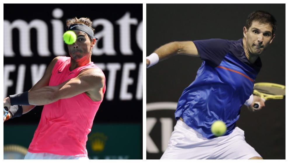 Rafa Nadal - Delbonis: horario y donde ver por TV y online el partido...
