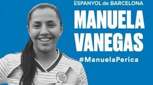 Manuela Vanegas.