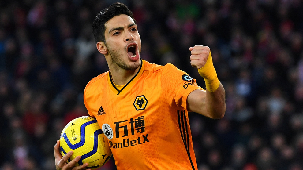 Raúl Jiménez impulsa al Wolverhampton al top 10 del fútbol mundial ...