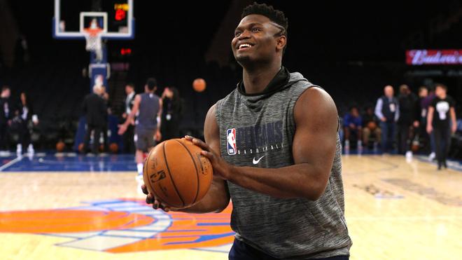 Zion Williamson debuta en la NBA.