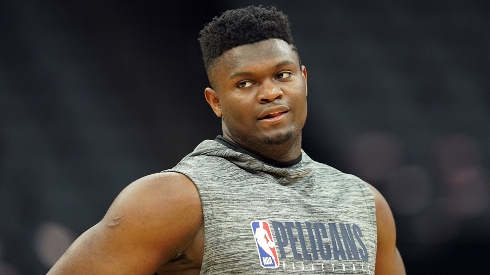Zion Williamson, de los Pelicans de New Orleans