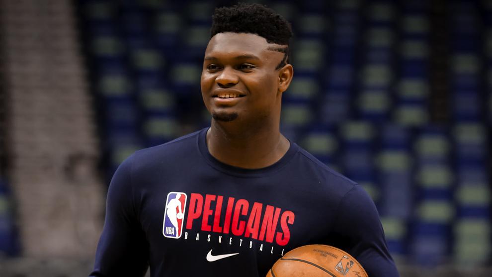 Zion Williamson, jugador de los Pelicans de New Orleans