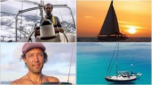 Algunas instantáneas del navegante Cuadrado