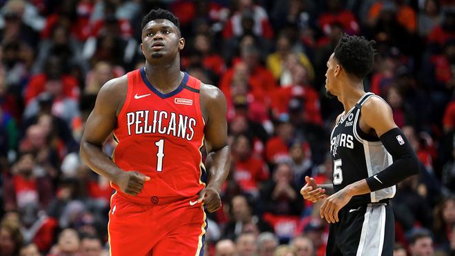 Debut agridulce para Williamson con los Pelicans.