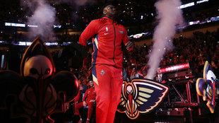 Zion Williamson, presentado con los Pelicans