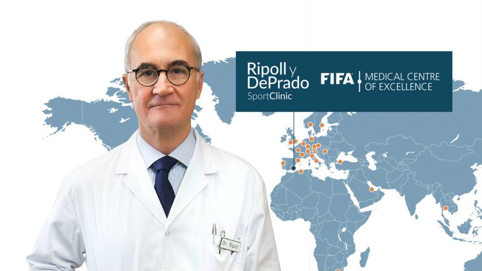 El doctor Pedro Luis Ripoll.