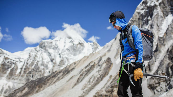 Kilian Jornet, en el Himalaya en 2019.
