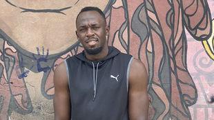 Usain Bolt en una instantánea que compartió en sus redes sociales
