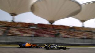 El circuito de Shanghai, escenario del GP de China de F1.