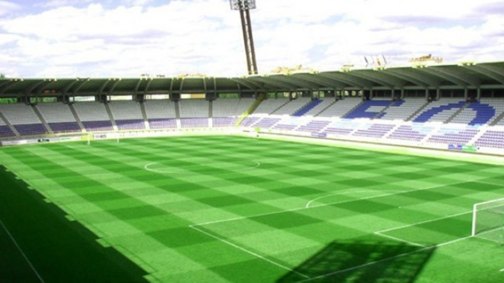 Panorámica del estadio Reino de León.
