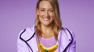 Mireia Belmonte, con Plátano de Canarias