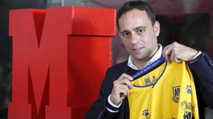 Fran Fernández, entrenador del Alcorcón