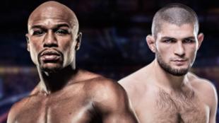 """La condición de Khabib a Mayweather: """"11 asaltos de boxeo y el 12º, con reglas MMA"""""""