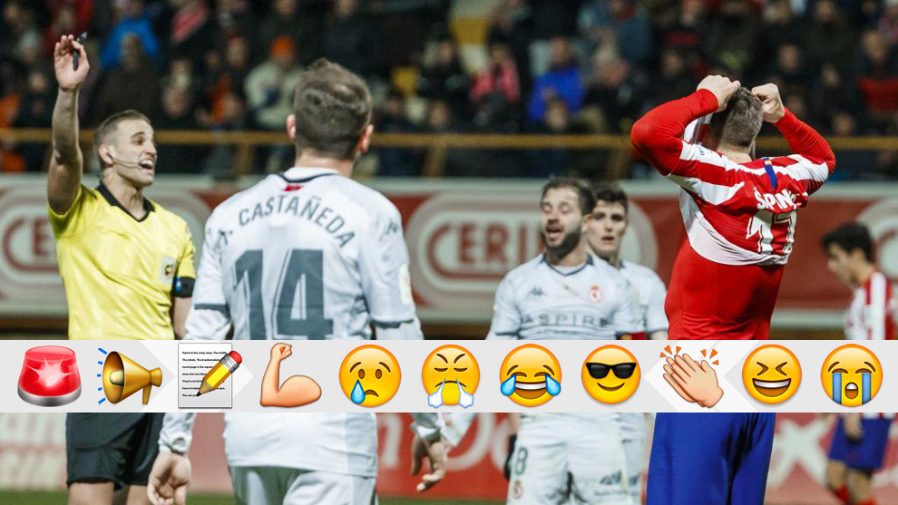 Atletico Madrid suffer shock defeat to third-tier side