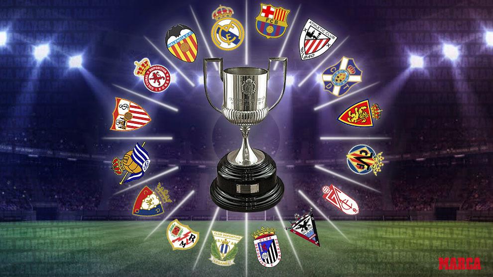 Spain Copa Del Rey Table