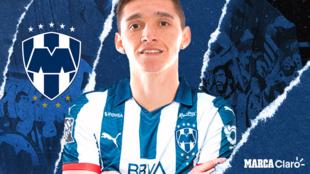 Matías Kranevitter, futbolista del Monterrey.