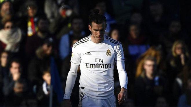Gareth Bale, durante un partido de esta temporada