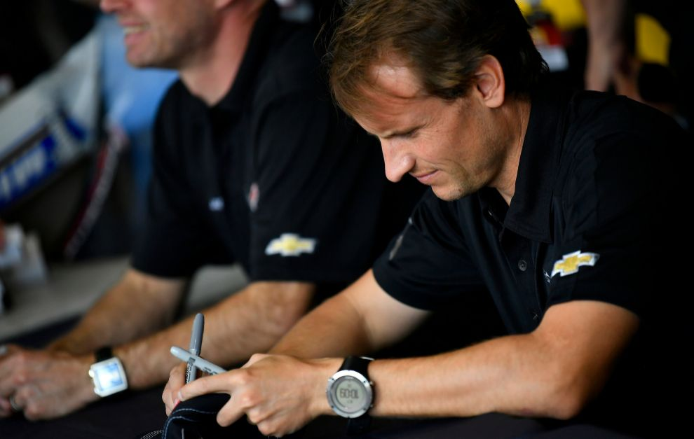 García fue el piloto más rápido de todos los de Corvette.