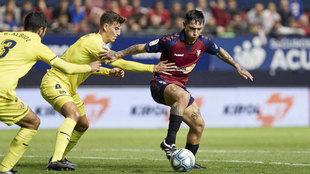 Imagen del Villarreal-Osasuna de ida.