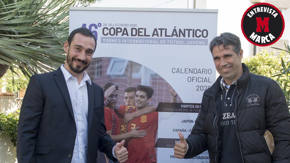 Pablo Amo y Valerón, en Gran Canaria