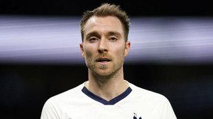 Eriksen, con el Tottenham.