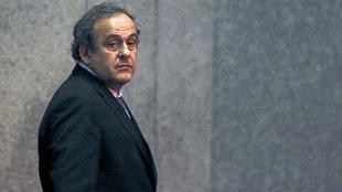 Platini, en una foto de archivo.
