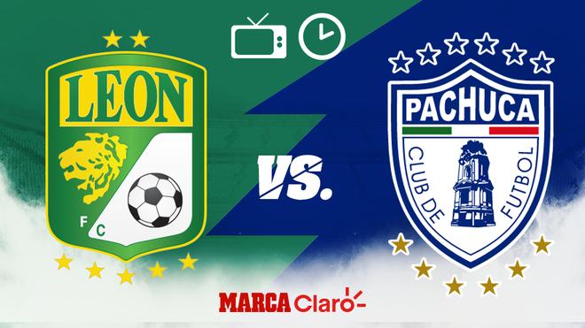 ¿A qué hora juegan hoy León vs Pachuca en vivo? Horario, streaming online y canales de TV.