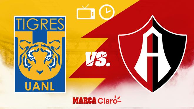 ¿A qué hora juegan los Tigres ante Atlas? Horario, canales de TV y dónde verlo en vivo Online.
