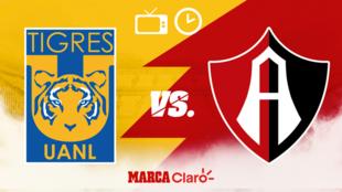 ¿A qué hora juegan los Tigres ante Atlas? Horario, canales de TV y...