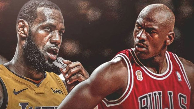 Montaje con Jordan y LeBron