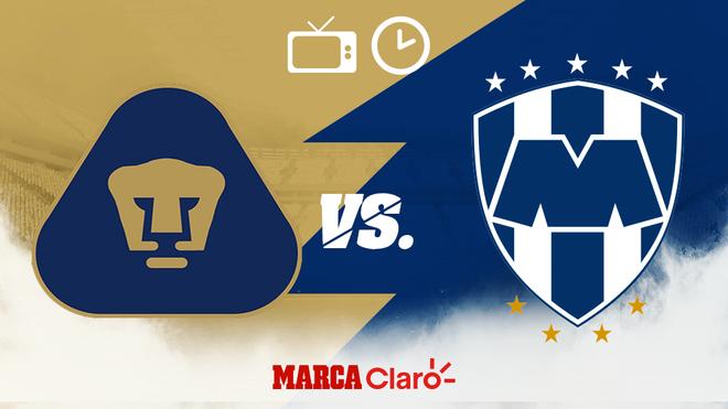 Pumas vs Monterrey: Futbol en vivo y en directo