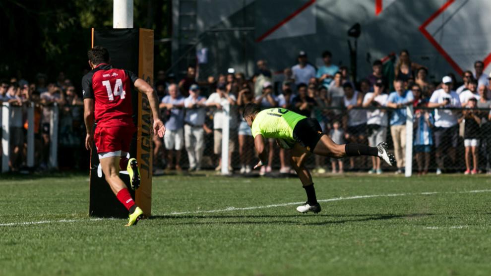 Santiago Chocobares abre el marcador
