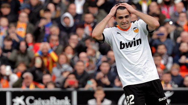 Valencia CF: Without Parejo, there is no penalty goal