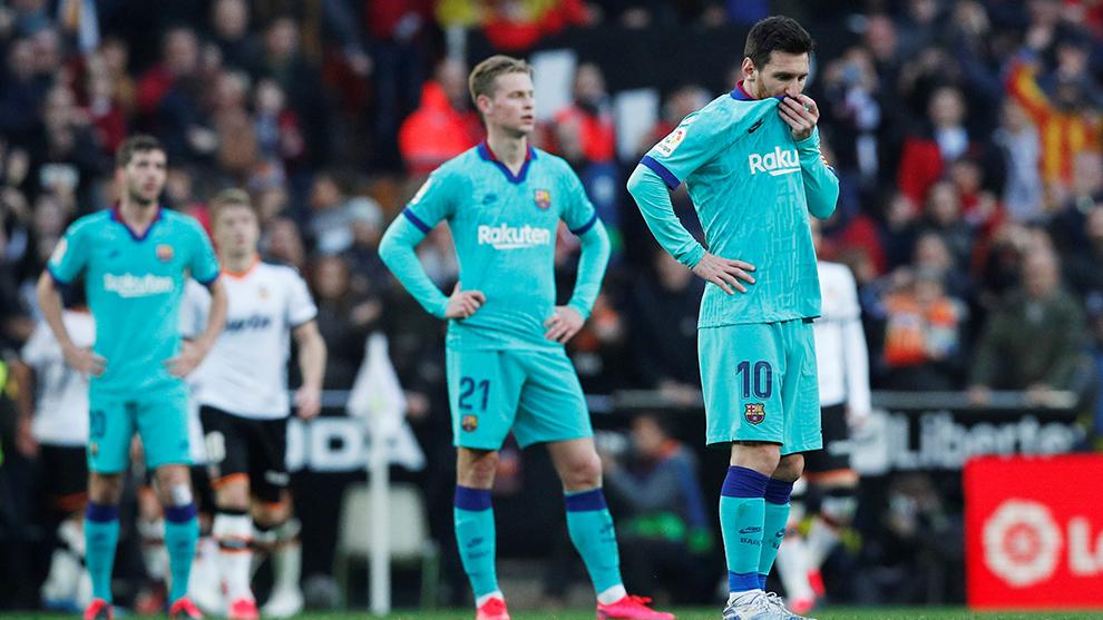 El Barcelona sufrió un descalabro que podría marcar la temporada