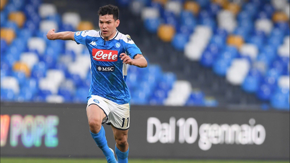 Hirving Lozano iría a la banca ante la Juventus