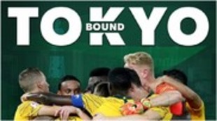 Australia celebra su pase a los Juegos Olímpicos de Tokio 2020.