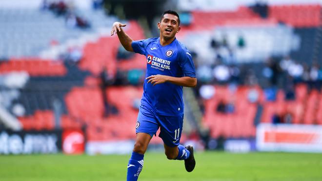 Elías Hernández celebrando su golazo.